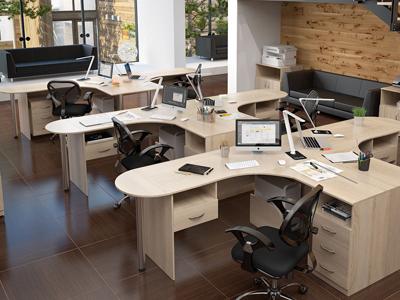 Мебель в офис на заказ Виннице от студии дизайна MebelX