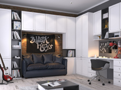 Мебель на заказ в подростковую Виннице от студии дизайна MebelX
