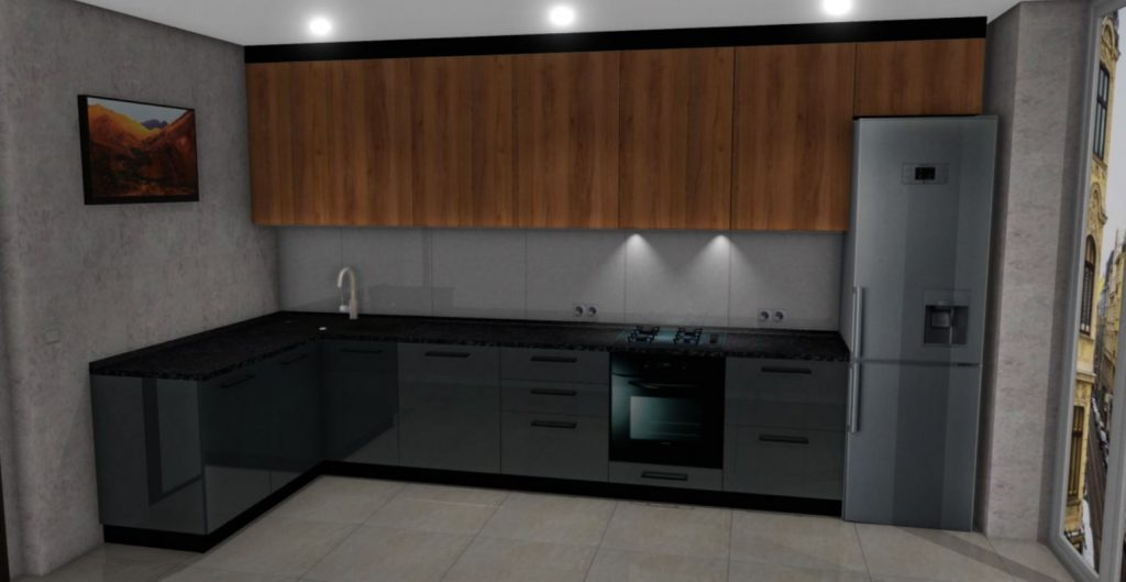 Кухня на заказ класса ЛЮКС за 31200 грн