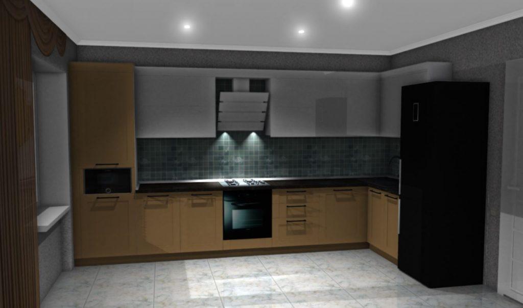 Кухня на заказ ПРЕСТИЖ класса за 40700 грн!
