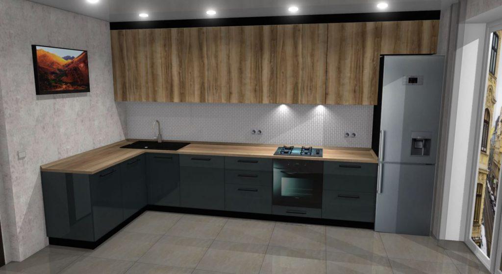 Кухня на заказ в Виннице от студии дизайна Mebelx