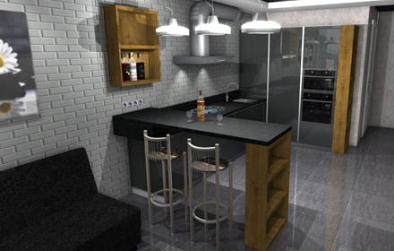 Кухня на заказ в Виннице класса премиум за 42600 грн